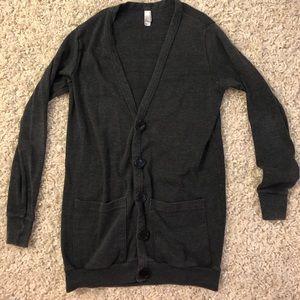 American apparel cardigan, size xs